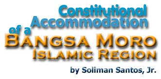 contitutional accomodation of bangsamoro Bangsamoro the bangsamoro framework agreement has been signed with both parties jubilant  contitutional accomodation of bangsamoro essay.
